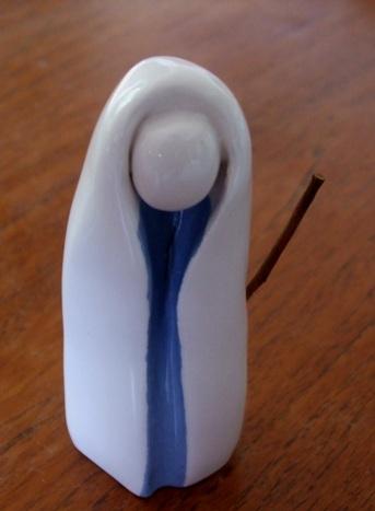 Berger bleu et blanc